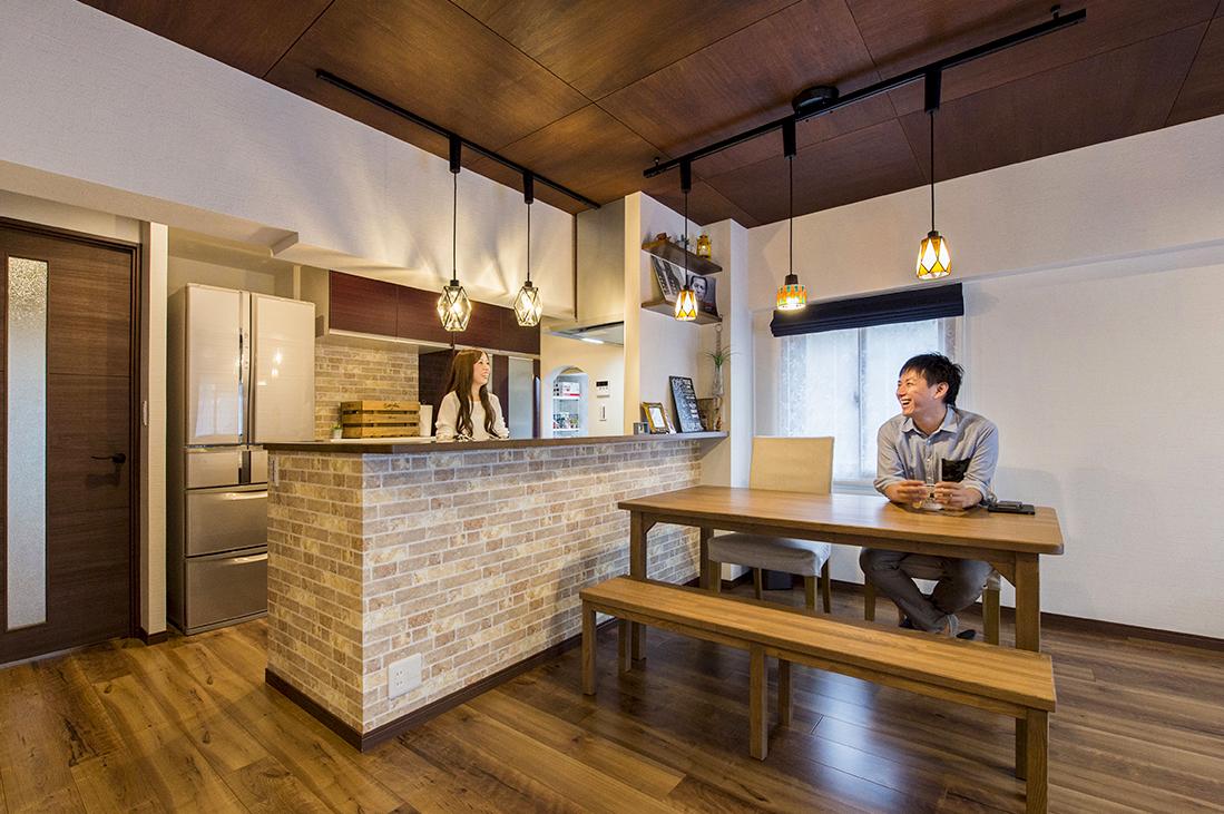 築32年の思い出のマンションが念願のカフェスタイルに生まれ変わり本当に嬉しいです!