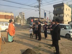 cafe mini(カフェミニ)新築工事 地鎮祭開催!